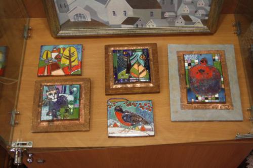 Выставку мастеров из Тарусы, экспозиция 4