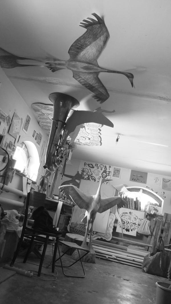 Мастерская художника пилипенко Сергея город Таруса. Фотографировал Вадим Глушко