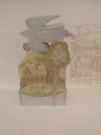 Каталог Ремесел, город Таруса, художник Пилипенко Сергей, скульптура (дерево/тонировка), Комодик - Вода, земля, небо